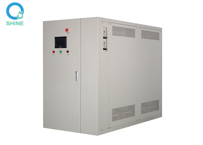 Water Cooling Household Ozone Generator With PLC Operation Interface