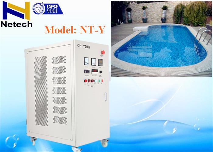 220V Swimming Pool Ozone Generator 90-56Mg/L Ozone ...